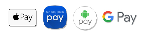 Apple Pay, Samsung Pay, Android Pay, Google Pay